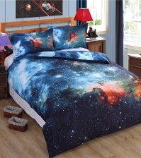 Постельное белье Космос 3D Большое Магелланово Облако