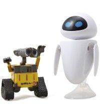 Комплект мини игрушек роботы Валли и Ева из мультфильма