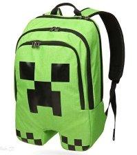 Школьный текстильный рюкзак Крипер Майнкрафт